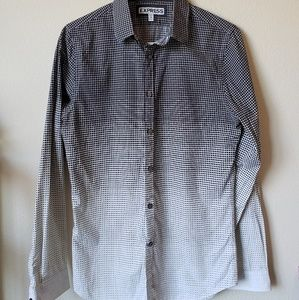 Express Men's Button Down Extra Slim Fit Small